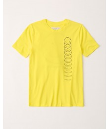 PRE-ORDER ONLY - Available 31ST March 2021 - Abercrombie Yellow Graphic Tee