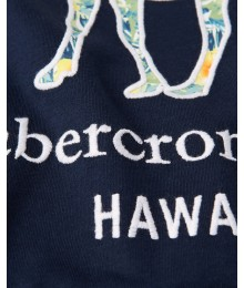PRE-ORDER ONLY - Available 31ST March 2021 - Abercrombie Navy Blue Coloured Deer Tee