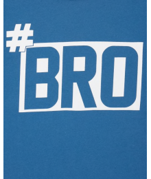 Childrens Place Light Blue #Bro Graphic Tee Big Boy