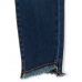 Childrens Place Blue Denim Girls Tulip Hem Distressed Super Skinny Jeans