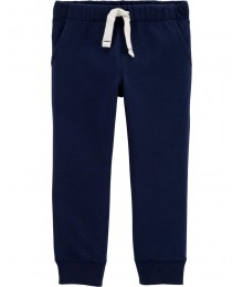 Carters Navy Pull On Drawcord Joggers