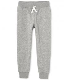 Childrens Place Light Grey Jogger Pants