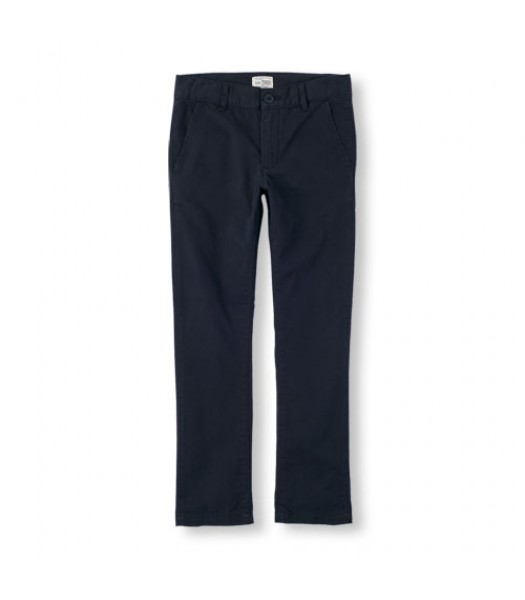 childrens place navy skinny husky trousers