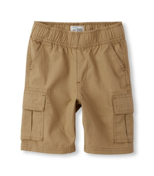 childrens place flax cargo shorts