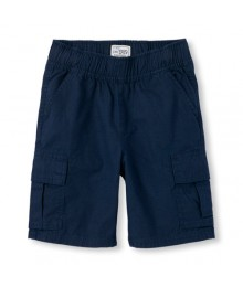 childrens place blue tidal cargo shorts