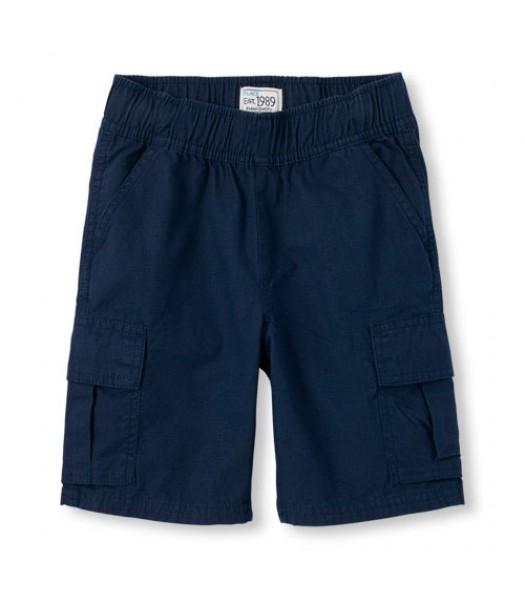 childrens place blue tidal husky shorts