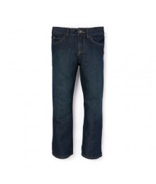 childrens place blue bootcut auth wash jeans   Little Boy