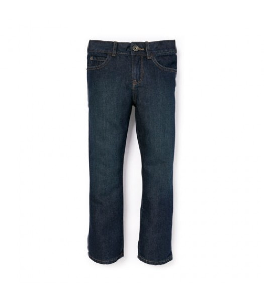 childrens place blue bootcut auth wash jeans