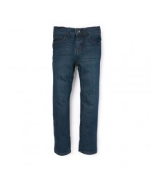 childrens place blue straight deep blue jeans