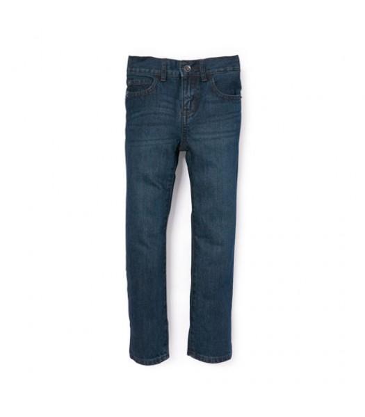 childrens place blue skinny wash husky jeans