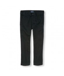 childrens place blak skinny regular trousers