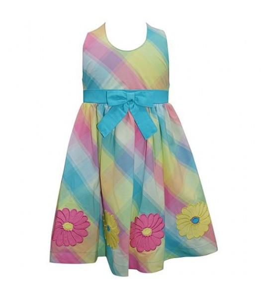 Blueberi Blue/Green/Pink Multi Dress