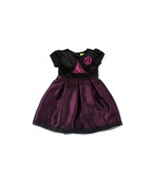 penelope mack purple/black plum dress Baby Girl