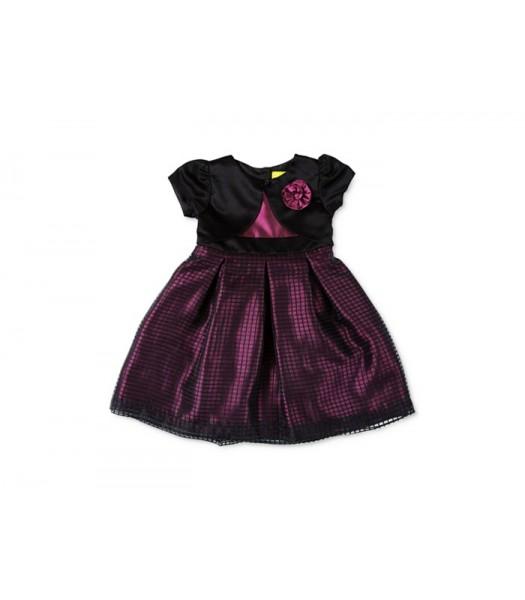 penelope mack purple/black plum dress