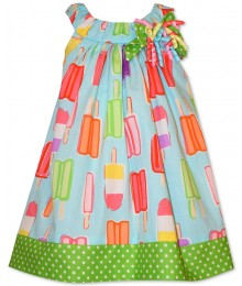 bonnie jean blue lollypop print ribbon dress