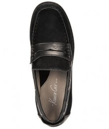kenneth cole black suede boys shoes