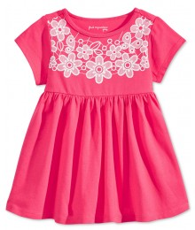 first impression pink/wht lace babydol tunic Baby Girl