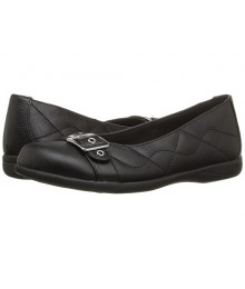 rachel black flat ballet girls shoes