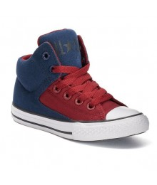 Kids corner chucks taylor  red/navy all star high street shoes