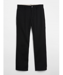 Cherokee Black Boys Husky Chinos