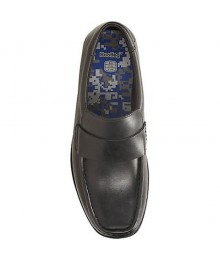 Clarks Black Single Strap Corris Step Boys School Shoes