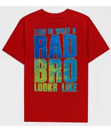 Childrens Place Red Rad Bro Tee Big Boy