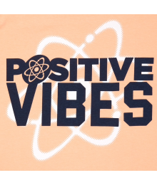 Childrens Place Coral Positive Vibes Tee  Big Boy