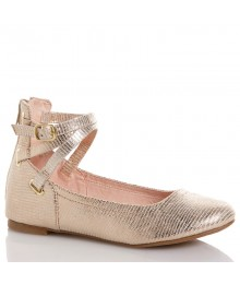 seychelle gold gilrs shoes