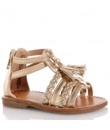 seychelles gold glaidator girls sandal Shoes