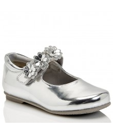 rachel silver patent toddler girls shoes
