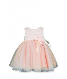 bonnie jean pink sequin to tulle dress