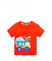 nursery rhyme red truck shirt sleeve tee Baby Boy