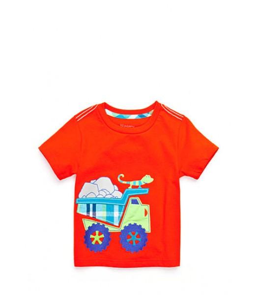 nursery rhyme red truck shirt sleeve tee
