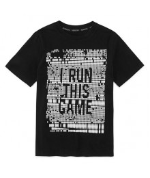 xersion black boys tees -  i run this game