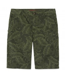 arizona green shorts with pineapple print