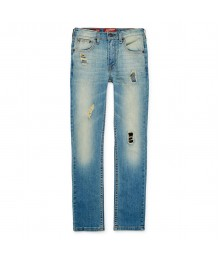 arizona light blue distressed skinny jeans
