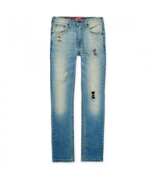 arizona light blue distressed skinny jeans