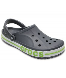 Crocs Gray Bayaband Clogs