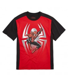 Marvel Red/Black Spiderman Tee