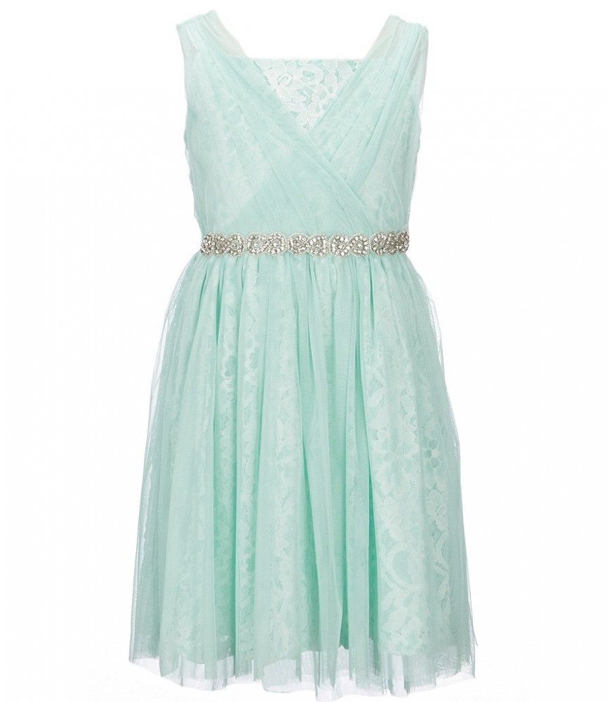 321254bb23e Blush By Us Angels Teal Green Lace Waist Beaded Dress. ₦16