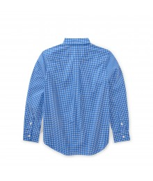 Polo Ralph Lauren Blue / White Check L/S Shirt