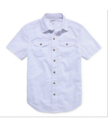 arizona white double front pocket shirt