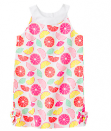 gymboree pink citrus/orange dress
