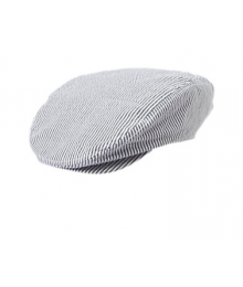 gymboree dove grey stripe seesucker cap