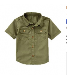 crazy8 green olive shirt
