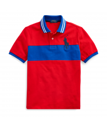 Polo Ralph Lauren Red/Blue Class Of 67 Polo Shirt  Big Boy