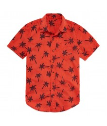 arizona orange wt black palm tree shirt  Little Boy