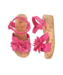 Gymboree Pink Wedge Sandals