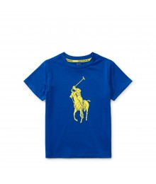 Polo Blue Performance Jersey T-Shirt