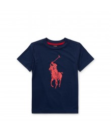 Polo Navy Performance Jersey T-Shirt
